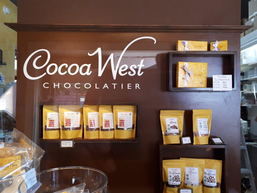 Cocoa West, a chocolate oasis in the heart of Bowen Island
