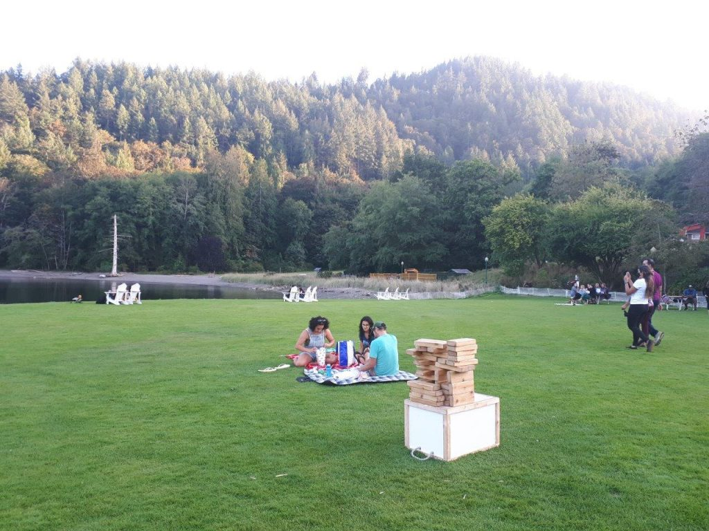 Scenic Snug Cove is perfect for enjoying a picnic