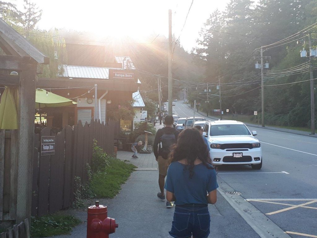Snug Cove known for its quaint shops and tempting cafes